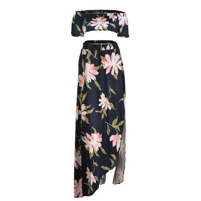 351e9bf3b 2017 para Damas Nuevas Llegadas Elegante Oficina Summer O Cuello Trajes  Floral Europa Estilo Traje Nuevo