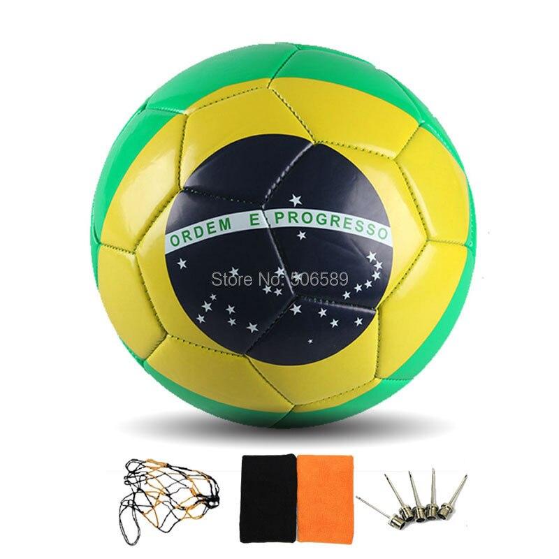free shipping football No 5 high quality football training football 5165--04(China (Mainland))