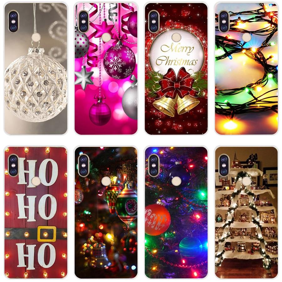 31A Pink Christmas Ball Lights Ornaments Soft Silicone Tpu