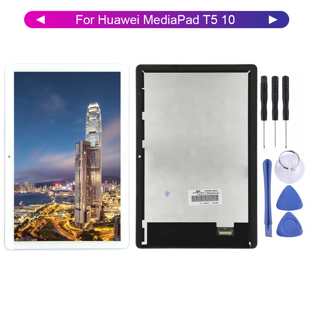 Free Shipping For Huawei MediaPad T5 10 AGS2-W19 AGS2-W09 AGS2-L03 AGS2-L09 Tablet Lcd Display Touch Screen Digitizer Assembly
