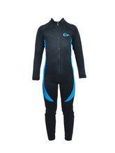 sunproof  lycra Long Sleeve Diving skin Jellyfish for snorkeling and diving swimming wear child