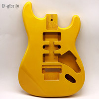 good quality 2019 newest Floyd Rose yellow color white color ST guitar body