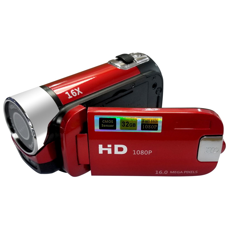 16X цифровая зум-камера 2,7 ''HD LCD Цифровая камера DV видеокамера Съемка фото видео камера Свадебная запись рекордер