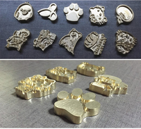 New Customize Hot Brass Stamp Iron Mold Burning On Cake Personalized Mold Heating On Wood Leather