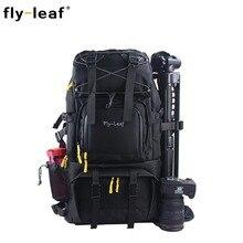 цена на FlyLeef FL-303D Camera Bag Waterproof Backpack Compact Travel Camera Backpack Men Women Backpack For Kamera Digital