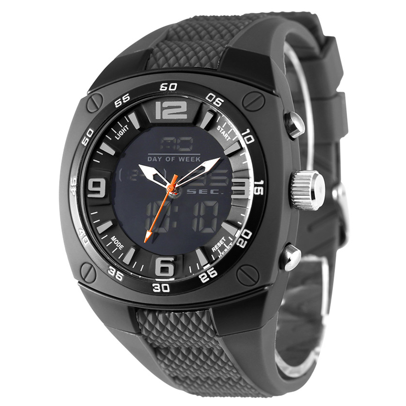 Fashion Outdoor Men Boy Sports Watches SMAEL Brand LED Digital Quartz Multifunction Waterproof Military Watch Dress Wristwatches smael new men analog digital fashion military wristwatches waterproof sports watches quartz alarm watch dive relojes ws1008