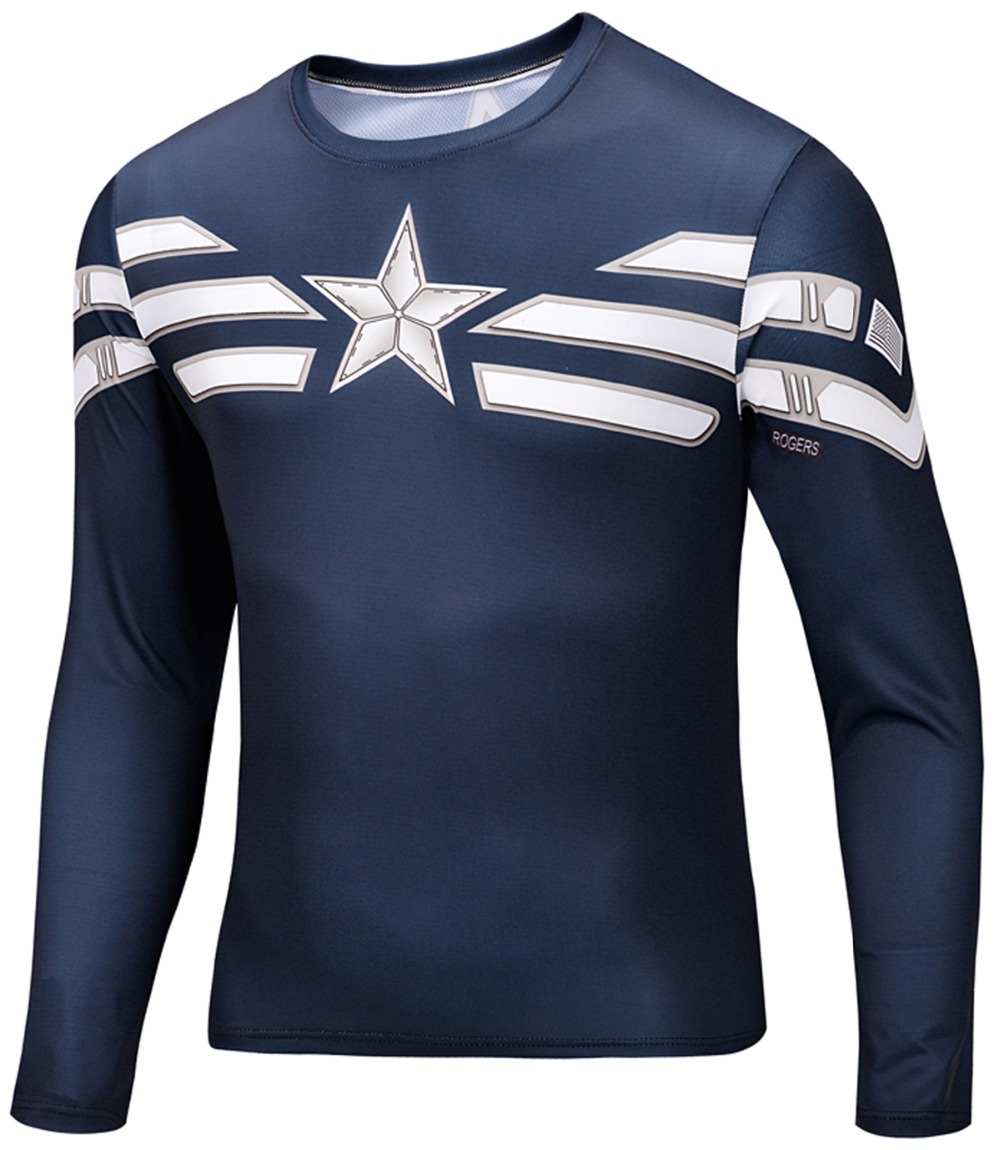 3d t shirt animal tshirt shirts mens long sleeve custom for Long sleeve custom t shirts