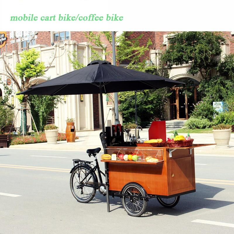 Coffee Bike Food Bike Cart Vending Cart Coffee/food Trucks Mobile Food Trailer Cart