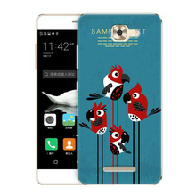 GR olamexy Paint Pattern TPU Case for Karbonn Quattro L55 HD