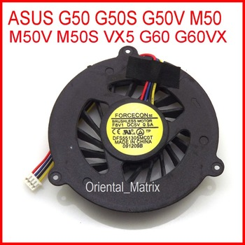 Free Shipping New DFS551305MC0T DC5V 0.5A For ASUS VX5 G60 G60VX G50 G50S G50V M50 M50V M50S Laptop CPU Cooler Fan image