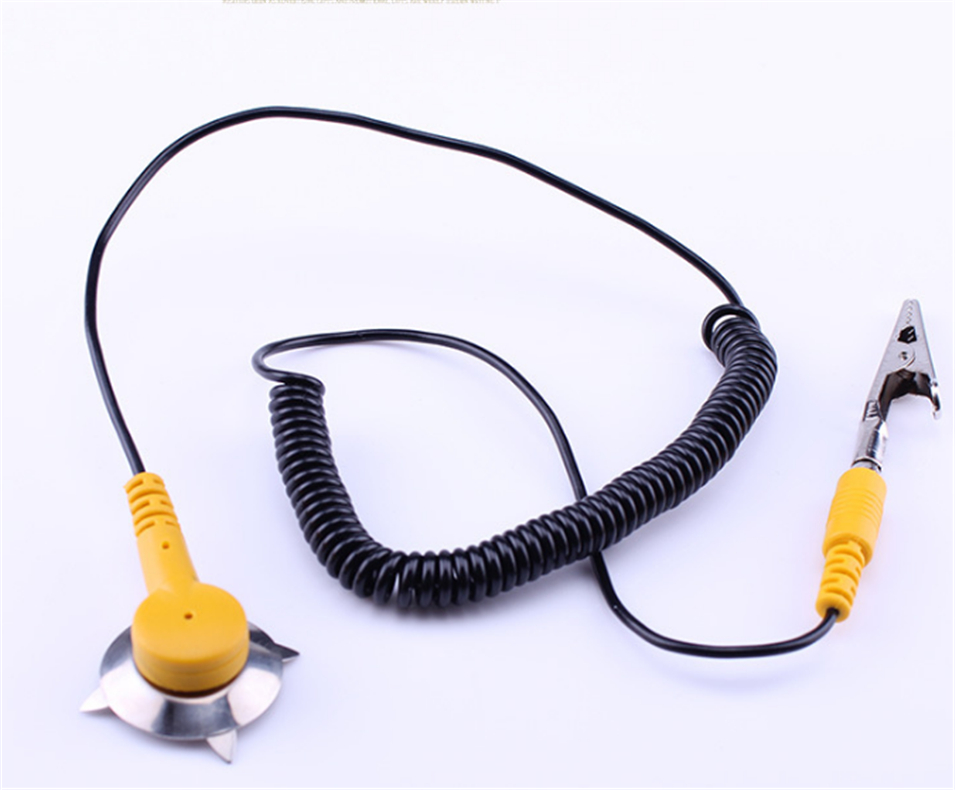 Hot Sale Tool Anti-static Wristband Adjustable Wrist Strap Band Esd Discharge Pc For Electronics Repair Work Tools Ground Wire Back To Search Resultstools Power Tool Accessories