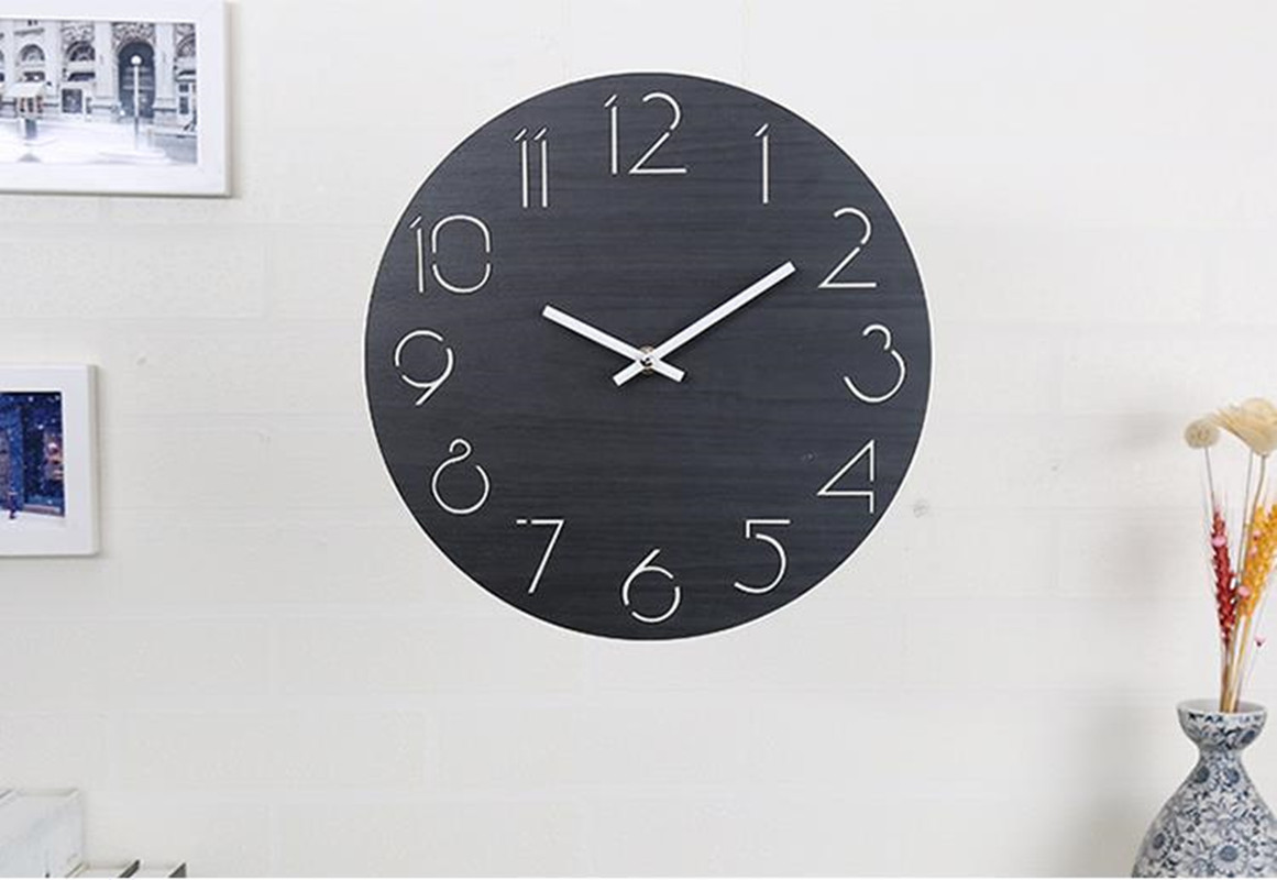 Inexpensive Wall Clock Creative Cheap Wall Clock Living Room Minimalist Modern