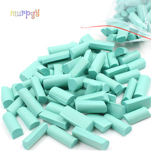 Hot 70pcs Sponge Chunks Filler Charms for Addition for Slime Supplies Lizun Accessories Slime Bead Decoration Foam Clay Mud