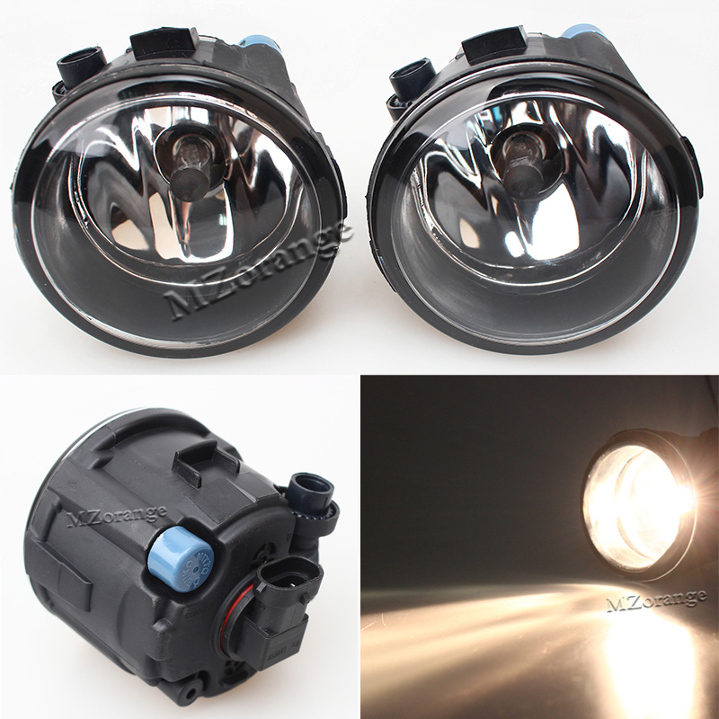 High Quality Car Styling Fog lights For NISSAN X-Trail T31 Closed Off-Road Vehicle 2007-2014 Halogen Lamps 1SET for nissan almera 2 ii hatchback n16 2001 2006 car styling fog lamp halogen 55w fog lights 1set