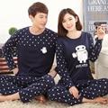 Winter Pajamas 2016 new design fashion cotton Home Clothing  Suits  high quality lovers's pyjama set