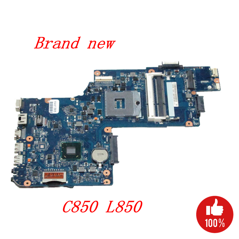 NOKOTION H000038380 H000038370 Main Board For Toshiba satellite C850 L850 Laptop Motherboard HM76 GMA HD4000 DDR3 Full works nokotion laptop motherboard for toshiba satellite l875 h000043480 mainboard hm76 gma hd4000 ddr3 page 3