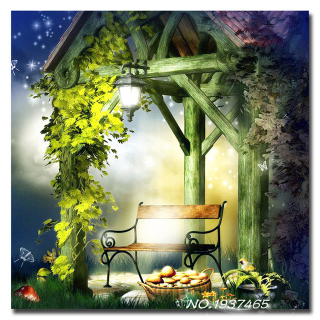 5d Diy Summer Cottage Diamond Painting Crystal Kits Icon Crystals Gifts Rhinestone Arts Crafts