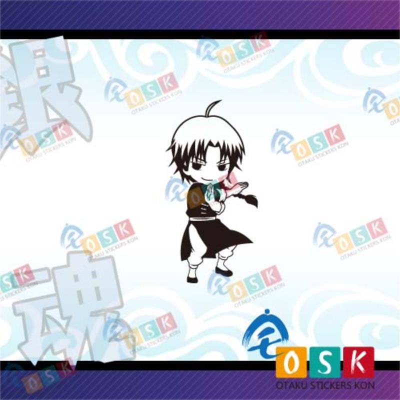 Silver soul Shenwei Q version of the wall stickers game animation COS font b peripheral b