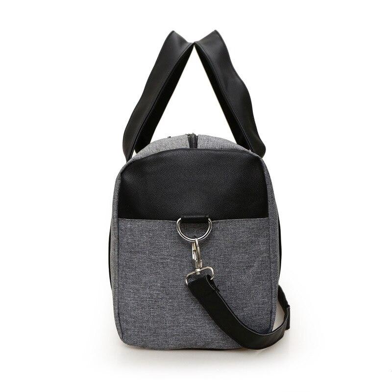 cc53500e15 Hot Super Quality Canvas Outdoor Gym Bag Men Women Handbags Men Crossbody  Bag Men s Travel Bags Laptop Briefcase Bag for Man-in Gym Bags from Sports  ...