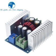 300W 20A DC DC Buck Converterขั้นตอนลงโมดูลไดร์เวอร์LEDโมดูลแรงดันไฟฟ้าลดลงElectrolytic Capacitor