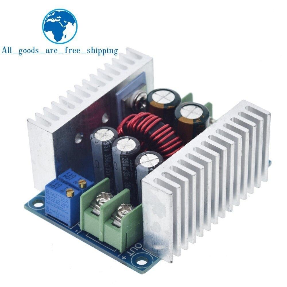 300W 20A DC DC Buck convertisseur abaisseur Module courant Constant LED pilote puissance abaisseur Module de tension condensateur électrolytique|Circuits intégrés|   - AliExpress
