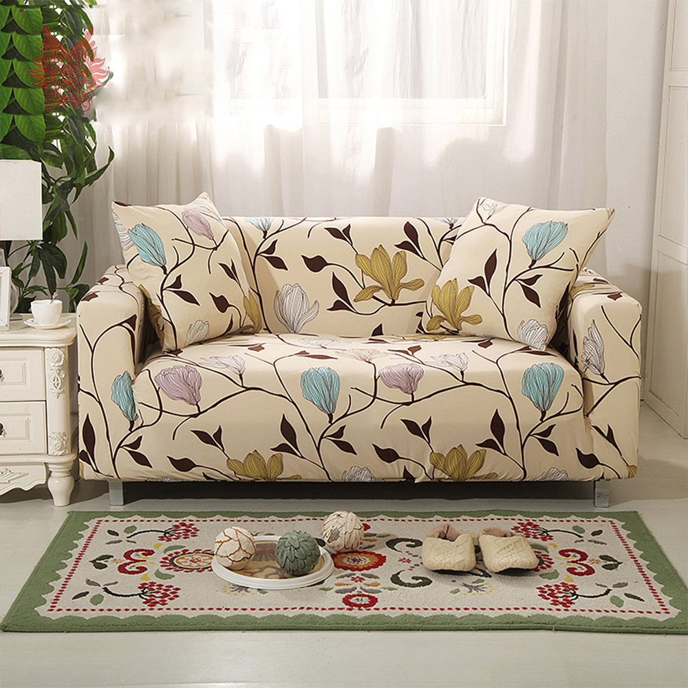 Ordinaire 1SEAT 2SEATS 3SEATS 4SEATS Floral Print Stretch Seat Covers Slipcover  Universal Elastic Force Sofa Covers SP3965 FREE SHIP In Sofa Cover From  Home U0026 Garden ...