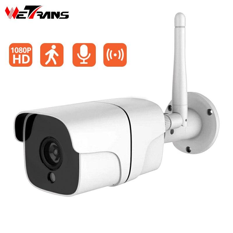 Caméra de vidéosurveillance Wetrans Wifi caméra sans fil de sécurité à domicile extérieure H.264 Hotspot Audio IP Kamera 1080 P Surveillance vidéo de caméra Wifi