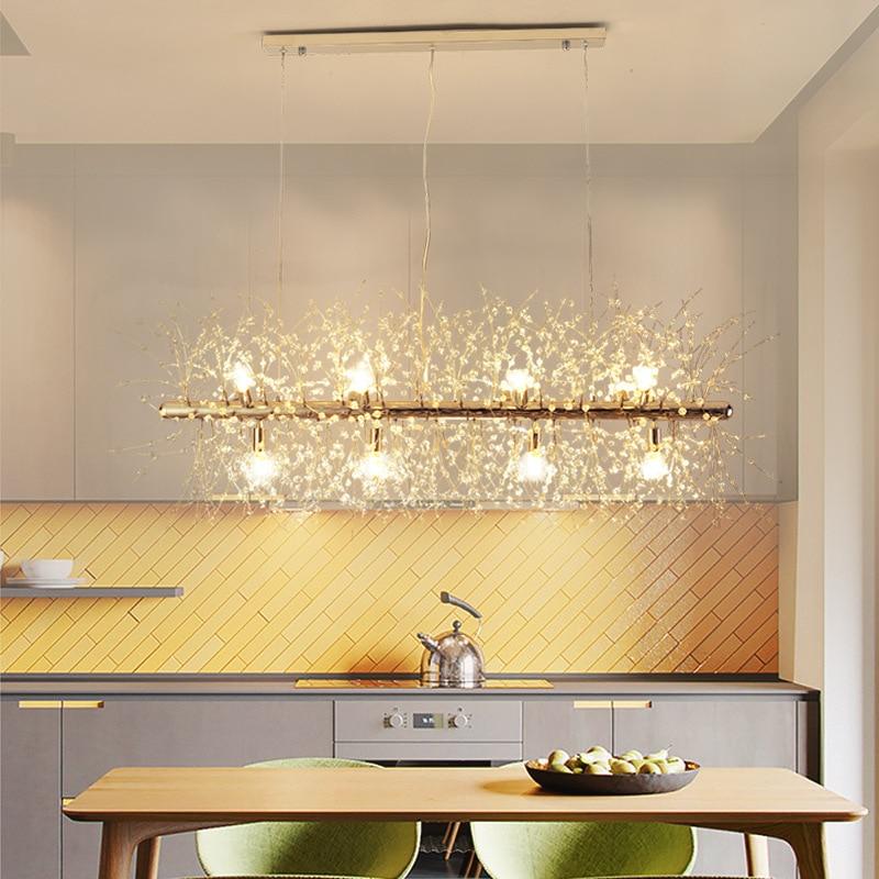 Hotel LED hanging lighting living room pendant lights ...