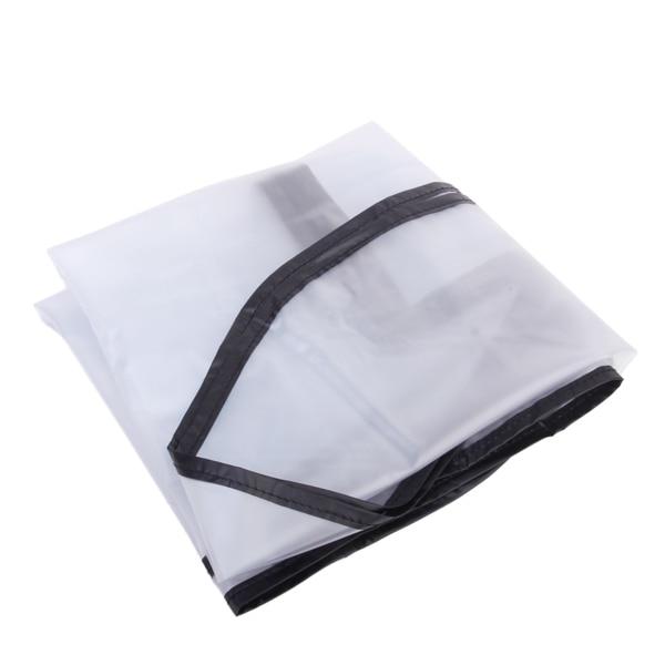 Outdoor Golf Rain Cove PVC Clear Waterproof Dustproof Zipper Durable Luggage Golf Bag Rain Cover Pad Rod Protector Protection