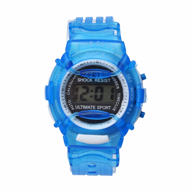 #5001Boys Girls Children Students Waterproof Digital Wrist Sport Watch New DROPS