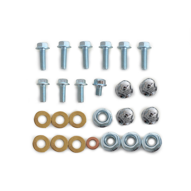 Engine Top End Bolt Kit For Honda TRX250R 1986 1987 1988 1989 M8 Head Cap M10 Base Nuts