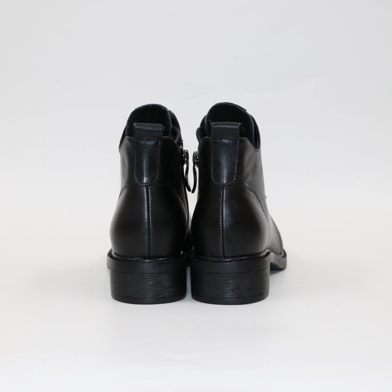 Poney en cuir bottes-in Bottines from Chaussures    2