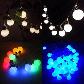 1,2 м/10 лампочек, гирлянда для рождественских сказочных огней, сферическое освещение для свадебной вечеринки, гирлянда