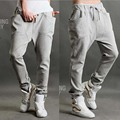 Men And Women Baggy Pants Thin Sweatpants Casual Tapered Hip Hop Harem Joggers Pants With Pocket Loose Trousers