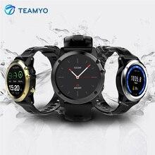Teamyo H1 смарт-Браслет Носимых устройств Фитнес Трекер Смарт-часы мужские професиональной открытый IP68 Водонепроницаемый спортивный браслет