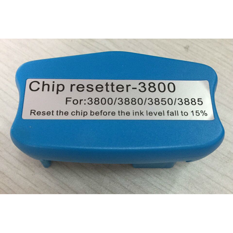 Chip resetter for Epson Stylus pro 3800 3800c 3850 3880 3890 3885 maintenace tank chip resetter waste ink tank resetter for epson stylus pro 4000 refill ink cartridge with resettable chip and chip resetter 8 color 300ml