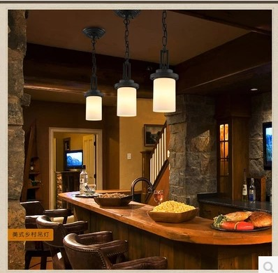 American Retro LED Vintage Pendant Lamp Fixtures Indoor Lighting Glass Lampshade In Style Loft Industrial Pendant Lamp american edison loft style rope retro pendant light fixtures for dining room iron hanging lamp vintage industrial lighting