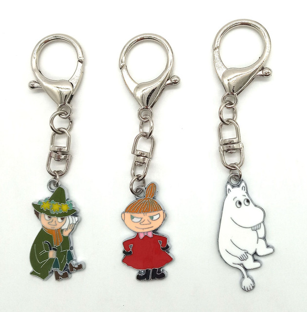 New 1 set  Cartoon Japanese anime Hippo witch  Keychain  Jewelry Accessories  Key Chains  Pendant  Gifts  Favors LK-51