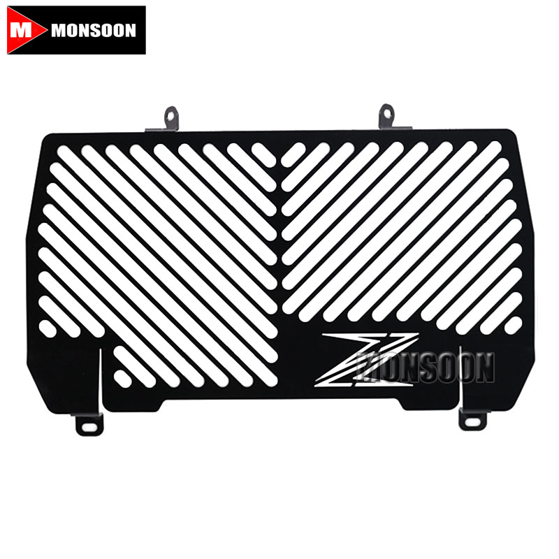 For KAWASAKI Z900 Z 900 2016-2017 Motorcycle Accessories Radiator Grille Guard Cover Black motorcycle radiator grill grille guard screen cover protector tank water black for bmw f800r 2009 2010 2011 2012 2013 2014