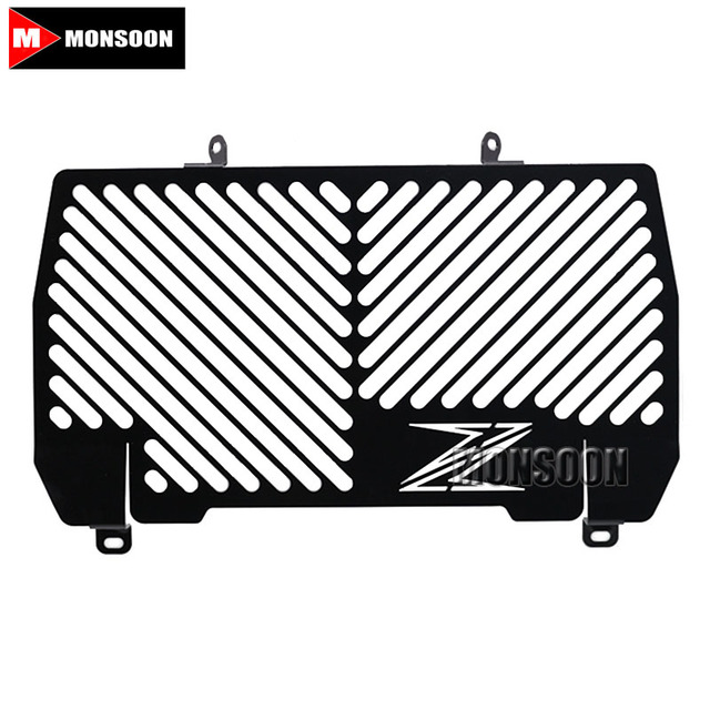 For KAWASAKI Z900 Z 900 2016 2017 Motorcycle Accessories Radiator Grille Guard Cover Black