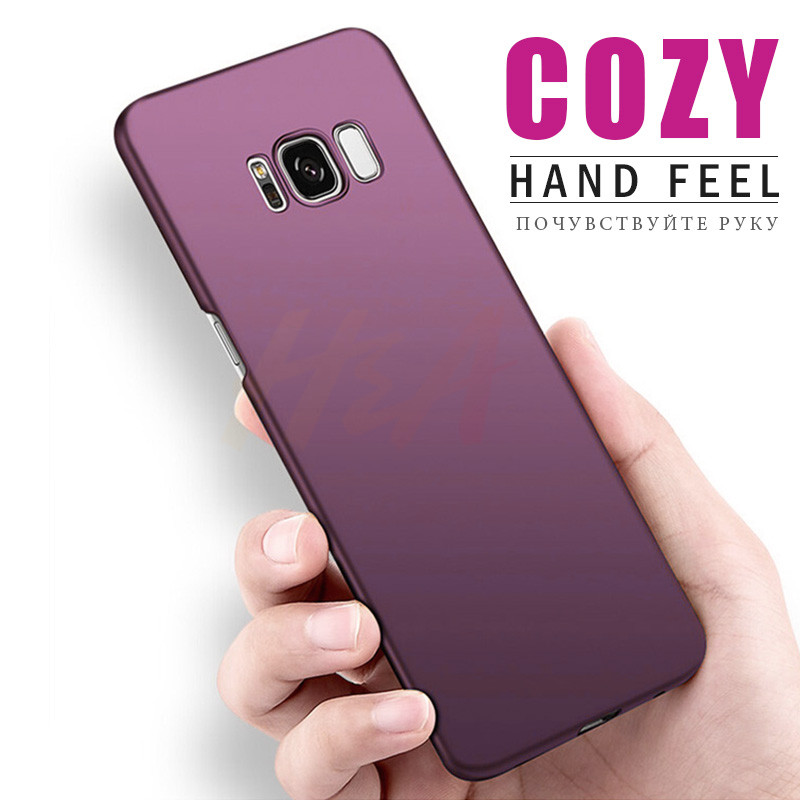 H&A Luxury Plastic Hard Phone Case For Samsung Galaxy S9 S8 Plus Full Cover Phone Shell For Samsung S6 S7 Edge Note 8 Case Capa
