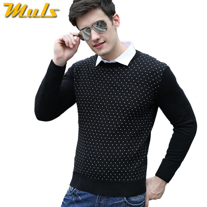 Online Shop Spotted Shark Sweaters Fashion Designer Cashmere Mens ...