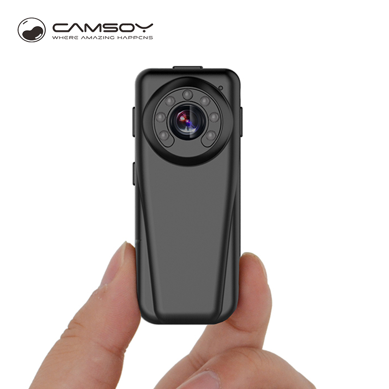Caméra infrarouge de vision nocturne T50 Caméra Full HD 1080P Grand Angle Mini 140 Degrés DVR Corps Kamera Pocket HD 720P Mini Cam
