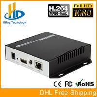 URay MPEG4 HDMI To IP Live Streaming Video Encoder H 264 RTMP Encoder HDMI Encoder IPTV