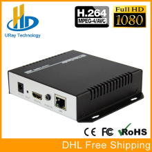 URay MPEG4 HDMI To IP Live Streaming Video Encoder H.264 RTMP Encoder HDMI Encoder IPTV H264 With HLS HTTP RTSP UDP