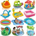 Bohs baño centro de la familia de dibujos animados intex piscina inflable infantil del bebé niños infantiles bañera