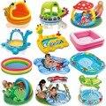 Bohs banheiro centro piscina inflável infantil piscina infantil intex família dos desenhos animados do bebê crianças infantil banheira