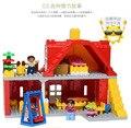 64 шт. Семейный Дом Строительные Блоки Большой Размер Строительный Блок Устанавливает Классические Игрушки Развивающие Игрушки Кирпич Совместимо С Lego Duplo