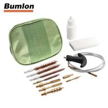 Gun Pistol Cleaning Kit .17cal.22cal .30cal 270/8.280cal Rifle Set Nylon Bag Rod Brass Brush cleaning for 37-0046