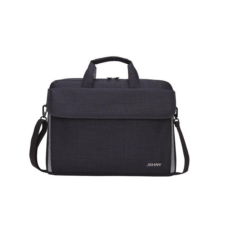 2017 new fashion slim man women 15.6 inch laptop computer bag travel business shoulder handbag high quality waterproof bags gift